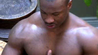 bodybuilder   interracial gay   threeway