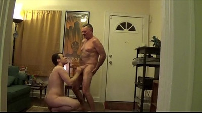 cock sucking  daddy and son  gay sex