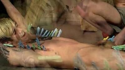 bondage  jizz shotgun  males