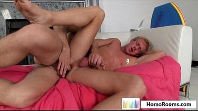 anal  ass  blonde gay